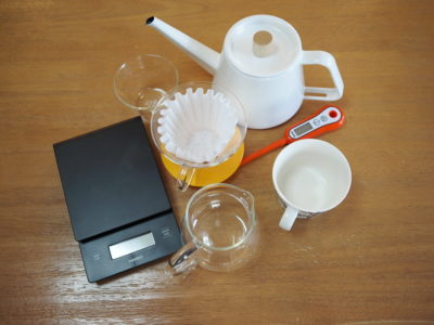 おすすめのコーヒー器具
