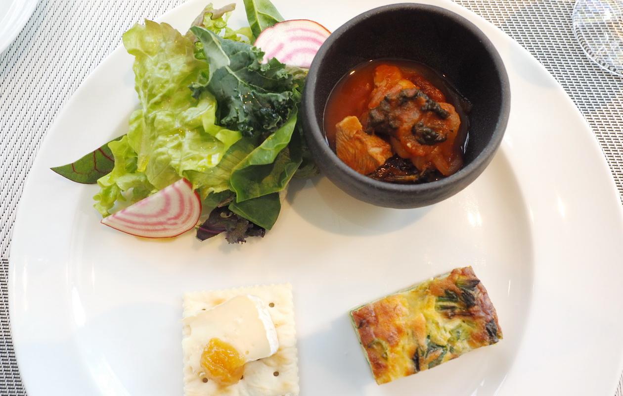 北越谷のイタリアン リストランテレナータのランチ「前菜4種盛り」