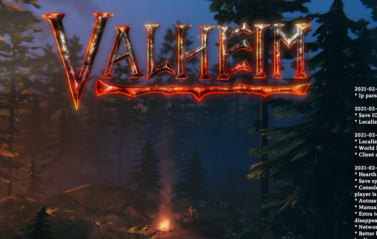 Valheimのタイトル