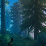 Valheim_黒い森の松の木とモミの木